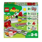 10882-LEGO® Duplo Les rails du train