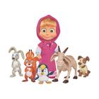 Masha et Michka-Figurine Masha et ses petits animaux