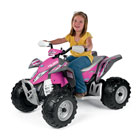 Quad électrique Polaris Outlaw Pink Power 12 volts