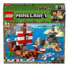 21152 - LEGO® Minecraft L'aventure du bateau pirate