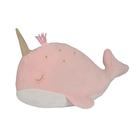 Coussin baleine rose