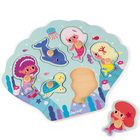 Puzzle en bois Happy Mermaids 6 pièces