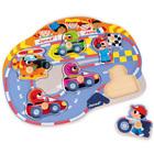 Puzzle en bois Happy Racing 6 pièces