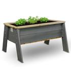 Table jardinière en bois
