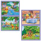 Puzzle 2x25Pcs Winnie Ourson