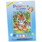 Peinture aux numéros tigres