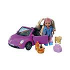 Poupée Steffi voiture et accessoires