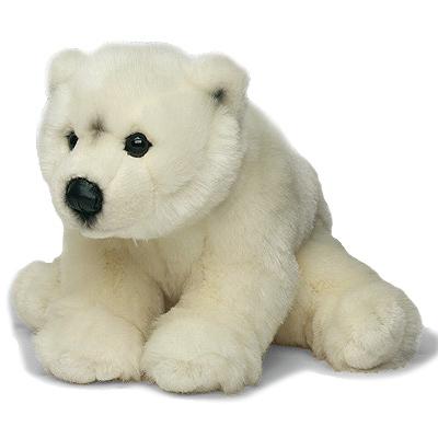 Une peluche très douce representant un ours polaire de 30 cm de haute qualité aux normes CE. Cette peluche WWF, inspirée par le monde animal, témoigne de la passion et de l´inspiration guidées par les valeurs défendues par la collection WWF. En adoptant u
