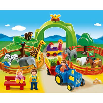 6754-Coffret Grand Zoo