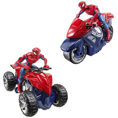 Véhicule Spiderman Zoom N Go