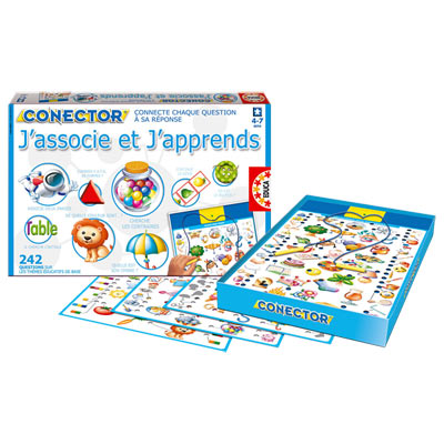 Connector J'associe et j'apprends