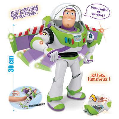 Toy Story : Buzz l'éclair multi-fonctions