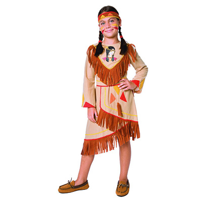 Costume Indienne 4/6 ans