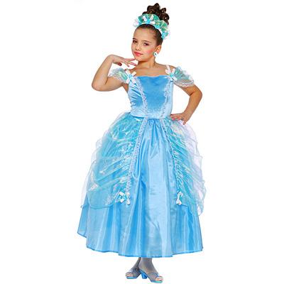 Costume Princesse bleue 4/6 ans