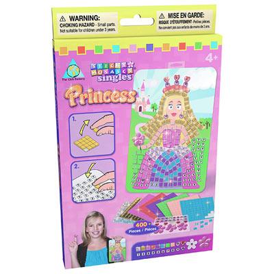 Minis Mosaïques autocollantes Princesse