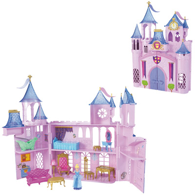 Chateau enchanté mini princesse Disney