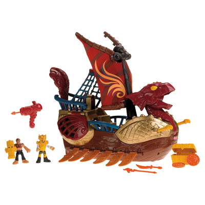 Bateau Dragon Imaginext