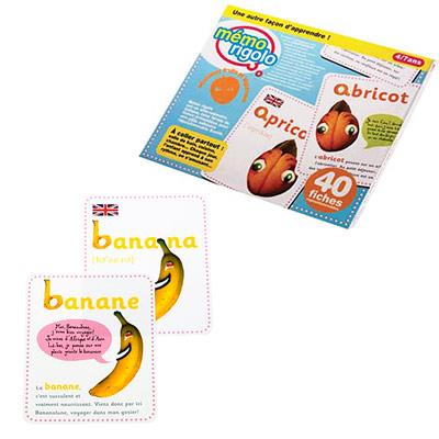 Memo rigolo alphabet fruits et légumes