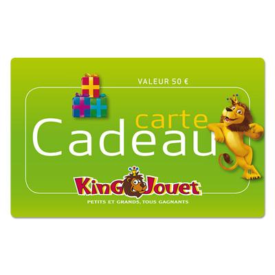 Carte cadeau King Jouet 50 €
