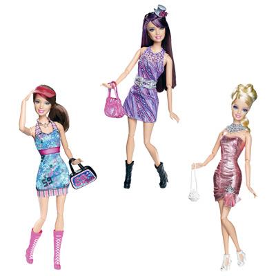 Barbie Fashionistas Mode et Beauté