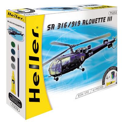 Hélicoptère Alouette III SA 316/319