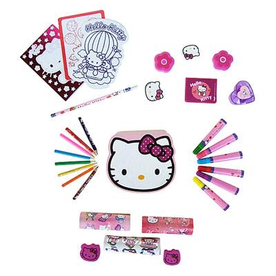 Autour Des Couleurs Hello Kitty