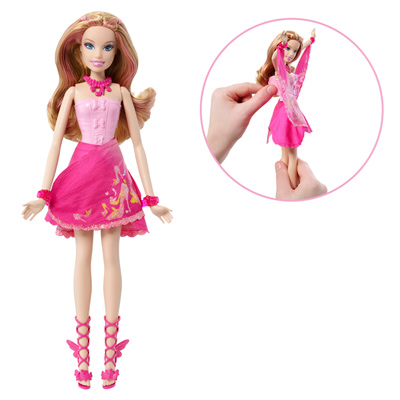 Barbie Fée Stylée Rose