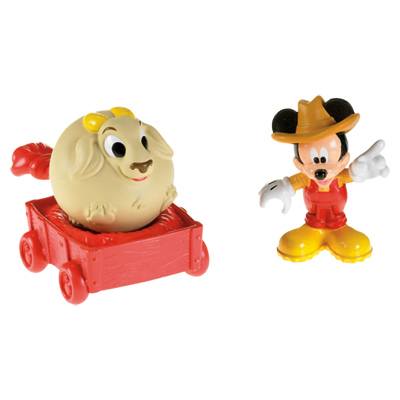 Figurine mickey et ses amis de mattel - Coloriage minnie jouet ...