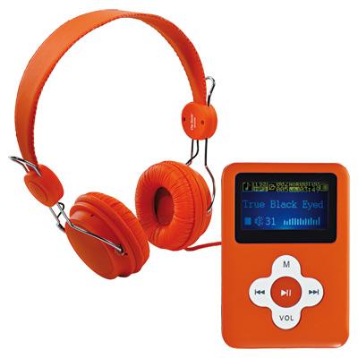 Lecteur MP3 et casque