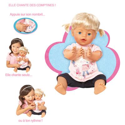 Bébé tape dans tes mains