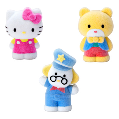 Figurine Floquée Hello-Kitty