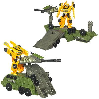 Bumblebee et son bunker de combat