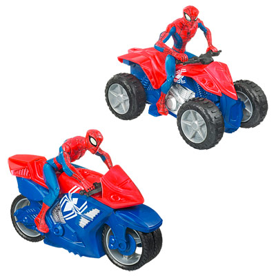 Spiderman Zoom'N Go Electronique