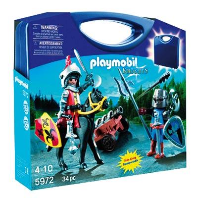 5972 valisette chevaliers playmobil king jouet playmobil playmobil jeux d 39 imitation. Black Bedroom Furniture Sets. Home Design Ideas