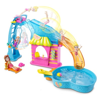 Piscine Et Toboggan Polly Pocket