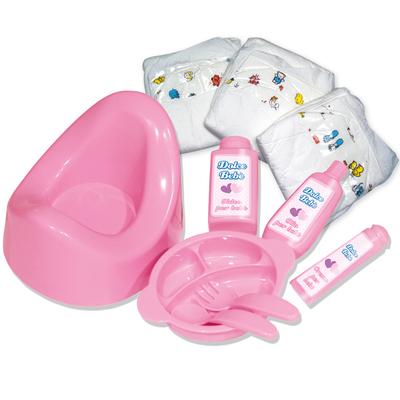 sac de change pour poupon love bebe king jouet accessoires de poup es love bebe poup es. Black Bedroom Furniture Sets. Home Design Ideas