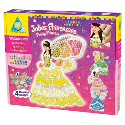 Mosaïques autocollantes Princesses