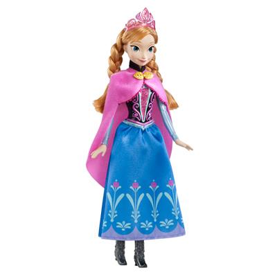 La reine des Neiges Anna scintillante