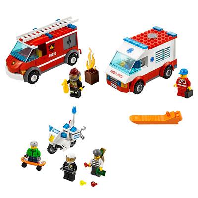 60023 - Ensemble de Véhicules LEGO® City