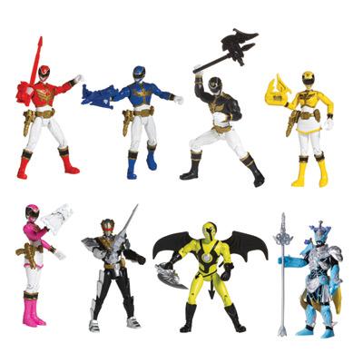 Power Rangers Figurine Megaforce 10 cm