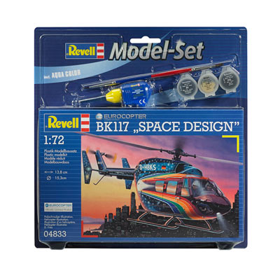 Maquette Eurocopter BK 117 Space Design