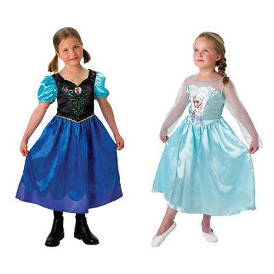 Coffret Déguisements Classiques Anna & Elsa Taille L