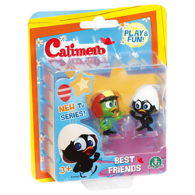 Blister 2 personnages Calimero