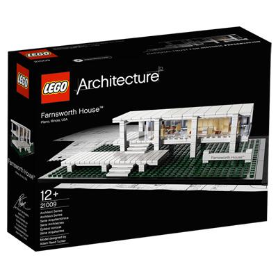 21009-Lego Architecture Farnsworth House