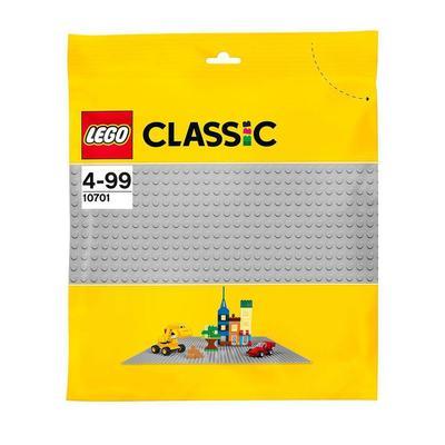 10701-La plaque de base grise Lego Classic