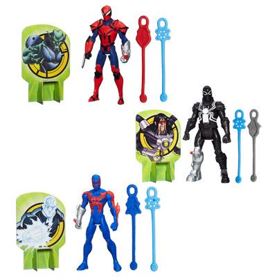 Spiderman Figurine Web Slingers