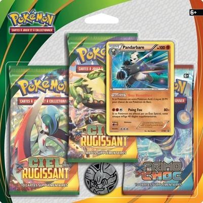 3 Boosters XY6 Pokemon
