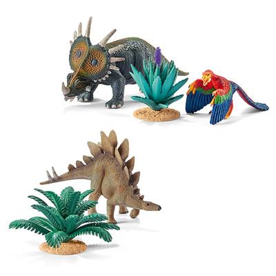 Kit dinosaures herbivores