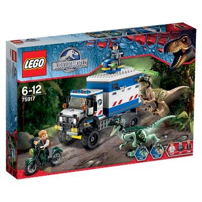 75917-La destruction du Vélociraptor