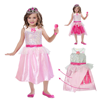 Panoplie Barbie Rock & Royals 8/10 ans